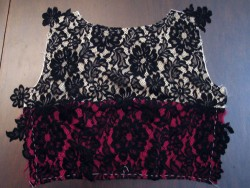 Back Bodice Applique Seam