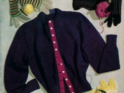 Petersham Ribbon Cardigan