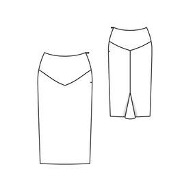 godet skirt pattern on Etsy, a global handmade and vintage