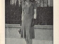Classic 40's Knit Dress