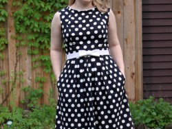 Polka Dot refashion 2