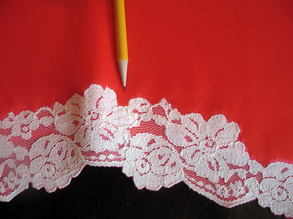 Tap Pants Side Lace