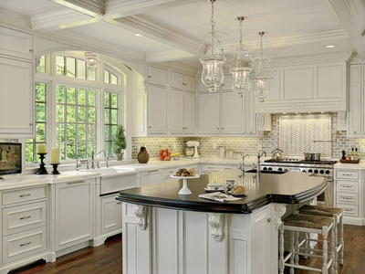 Large Kitchen Windows Home Design Ideas And Pictures