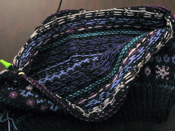 Knitting for (Fair Isle) Victory - zilredloh