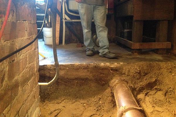 Basement Digging