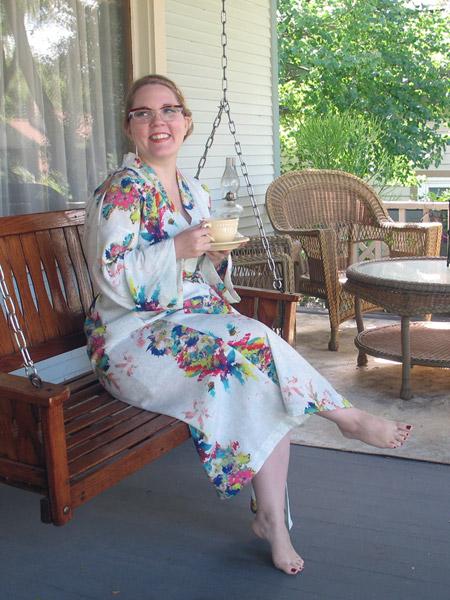 Kimono Style Bathrobe