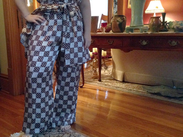Silk Charmeuse Pajama