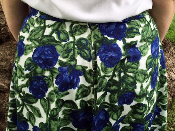 Floral Hollyburn Zipper