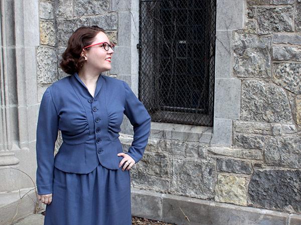 A 1940s Suit