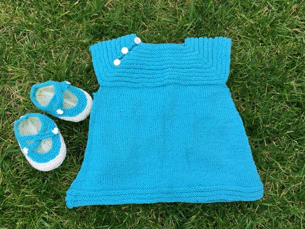 Baby Dress & Booties