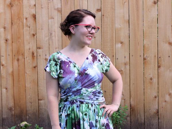Floral Molyneux Dress