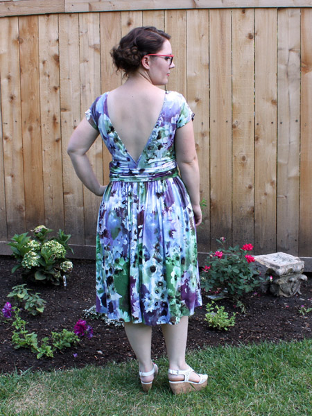 Floral Molyneux Dress